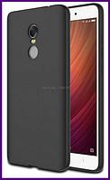 Ультратонкий дизайнерский чехол для смартфона Xiaomi redmi note 4x (BLACK)