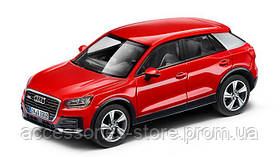 Модель автомобиля Audi Q2 Tango Red, Scale 1:43