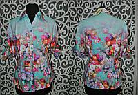 """Стильные женские блузы, рукава """"трансформер"""" 3/4 превращаются в короткий 40, 42, 44, 46 размеры норма"""