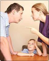 Развод, алименты, проживание ребёнка