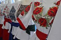 Жіночі вишивані плаття .