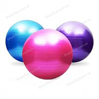Мяч резиновый для фитнеса d 55