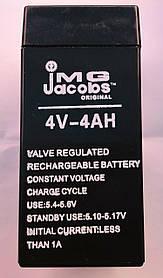 Аккумулятор свинцово-кислотный 4V 4.0Ah