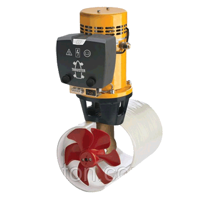 Электрическое подруливающее устройство Vetus 70 кгс, 24 В, диаметром 185 мм