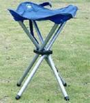 Туристический раскладной стульчик 4 ножки, фото 2
