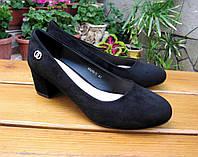 Стильные женские туфли на каблучке р 40-43.