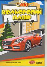 Бумага цветная А4 TIKI-50903. 24л. 12цв., фото 2