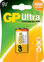 Батарейка GP Крона (6LR22) Ultra Alcaline 9V 1шт