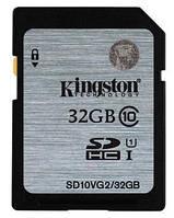 Карта пам'яті Kingston SDHC 32Gb (SD10VG2/32GB)