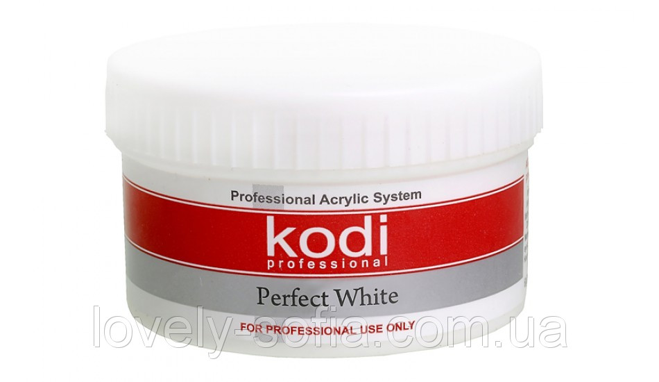 Perfect White Powder (Базовый акрил белый) 60 гр..Kodi