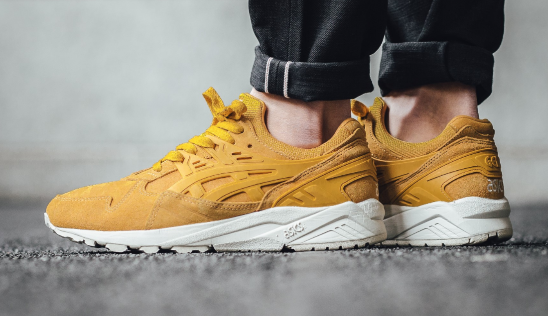 Gel Trainers In Yellow - Yellow Asics NUTRhX