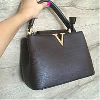 Женская сумочка черного цвета. Модель 107353.