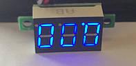 Вольтметр 27022B цифровой DVM-36.3 постоянного тока 0-30V Синий (три провода)