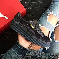 Криперы, слипоны, кеды, кроссовки PUMA by Rihanna Creeper (Реплика 1:1)