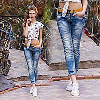 Джинсы женские пояс в комплекте  мега крутые !, производство Турция дг № 11908