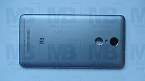 Задняя крышка (панель)  Xiaomi Redmi Note 3  Gray, оригинал!