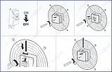 Аксиальный вентилятор ВЕНТС ОВ 4Е 250 (800 куб.м, 50 Вт), фото 9