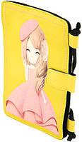 Детская кошелек-сумочка из кожезаменителя Traum 7007-04, желтый