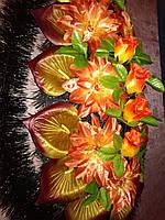 Венок из искусственных цветов Классический средний №4(Бутон)