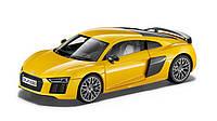 Модель автомобиля Audi R8 Coupé, Vegas yellow, Scale 1:18