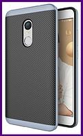 Чехол, бампер iPaky для смартфона Xiaomi redmi note 4x (GREY)
