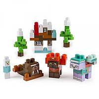 IONIX Jr. Щенячий патруль конструктор Игровой набор Бухта приключений PAW Patrol, Jake's Cabin Block Set