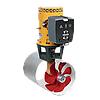 Электрическое подруливающее устройство Vetus 285 кгс, 48 В, диаметром 300 мм