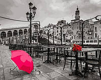 Картины по номерам 40×50 см. Зонт на набережной Фотохудожник Ассаф Франк, фото 1