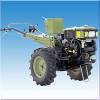 Мотоблок дизельный КЕНТАВР МБ 1081Д-5 ( 8 л.с. водяное охлаждение, электростартер)