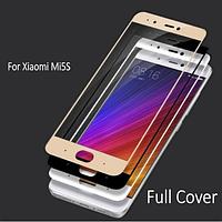 Защитное стекло для Xiaomi Mi5s  (чёрное, белое, розовое, золотистое)