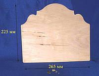 Панно 26,5х22,5 см фанера заготовка для декора №66