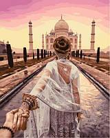 Картины по номерам 40×50 см. Cледуй за мной Индия Фотохудожник Мурад Османн