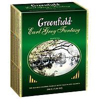 Чай  Greenfield м/у 100*2г Earl Grey Fantasy