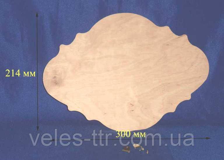 Панно 30х21,4 см фанера заготовка для декора №62