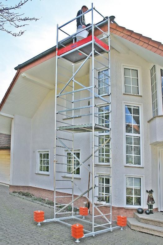 Вишка-туру KRAUSE MOBIL, раб.висота 7,2 м