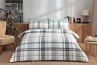 Двуспальное евро постельное белье TAC Brand Mint Сатин