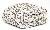 Одеяло шерстяное полуторное бязь 150*210 хлопок (2896) TM KRISPOL Украина