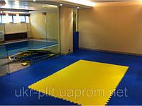 Модульное покрытие для залов единоборств, фитнес-клубов и секций йоги