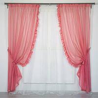 Готовый комплект штор в комнату для девочки в Украине