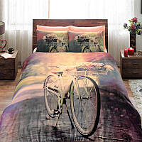 Двуспальное евро постельное белье TAC Sunshine Сатин