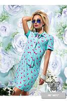 Платье из штапеля  с 42  по 48 размер 2  цвета