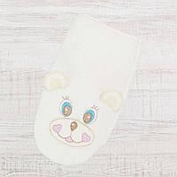 Рукавичка- Варежка для купания новорожденных 25*14см, Хлопок-Махра ,В наличии все цвета