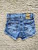 Sercino 3-7 джинсовые шорты бриджи для девочек, фото 2