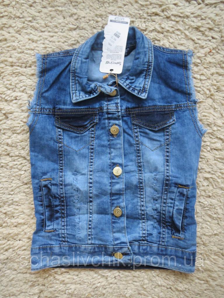 Sercino 7-12 джинсовый пиджак детский
