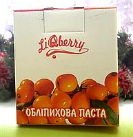 Облепиховая паста «LiQberry»  суточная норма В-каротина, жирорастворимого витамина Е (токоферола)