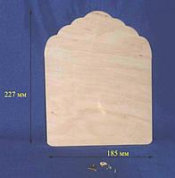 Панно 18,5х22,7 см фанера заготовка для декора №75