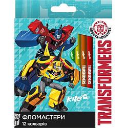 Фломастеры Transformers, 12 цветов