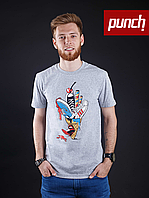 Футболка Punch - Ice Cream, Серая, фото 1