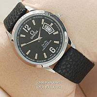 Часы Omega Chronometer Silver/Black