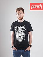 Футболка Punch - Always Outlaw, Molotov, Черная, фото 1